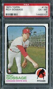 1973 Topps #174 Goose Gossage Rookie! PSA 6 EX-MT