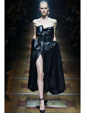 **LANVIN** Gathered Faux Stretch Leather Dress **RUNWAY** **£2695.00**