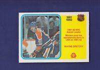 Wayne Gretzky Assist Leader 1982-83 O-PEE-CHEE Hockey #240 (NM+) Edmonton Oilers