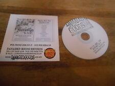 CD Punk Betty And The Werewolves - Teatime Fav (14 Song) Promo DAMAGED GOODS cb