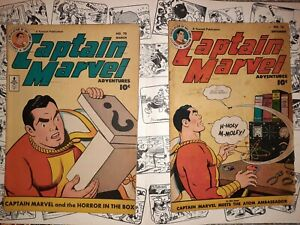 Captain Marvel Adventures 70 & 76