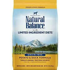 Natural Balance L.I.D. Limited Ingredient Diets Dry Dog Food, Potato & Duck