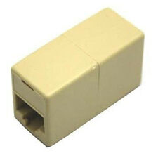 10 X CAT5 RJ45 Network Cable Extender Plug Coupler Joiner Splitter SY AU
