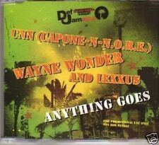 (289W) CNN, Wayne Wonder & Lexxus, Anything Goes- DJ CD