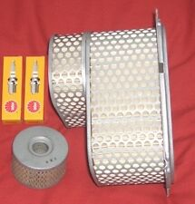 Service kit- Plugs , Air & Oil Filter for SUZUKI DR  DR800  DR BIG 1991 to 2000