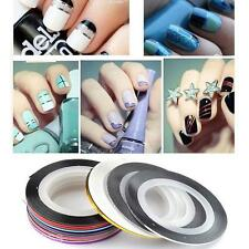 UV gel Acrylic Nail Art Strip Tape Line Tips Sticker Manicure Decal Paster Roll