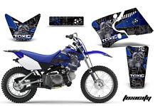 Dirt Bike Graphics Kit Decal Wrap For Yamaha TTR90 TTR90E 2000-2007 TOXICITY U K