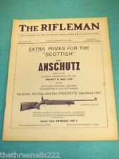 THE RIFLEMAN - ANSCHUTZ PRIZE FOR 'SCOTTISH' AD - JUNE 1969 #472