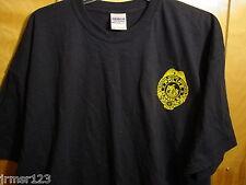 NPD- NEWARK POLICE SUPERIOR OFFICERS ASSN.-PBA FOP  TEE SHIRT S - XL-  Navy Blue
