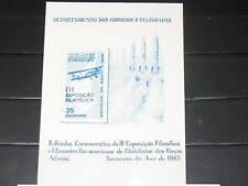 Brazil 1965 unlisted Souvenir Card Aviation Week MNH