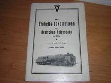 1929.Einheits-Lokomotiven / Maey.train chemin de fer