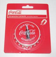 Décapsuleur Aimant Aimanté Coca Cola Ø 7 cm Bottle Opener Magnet NEUF