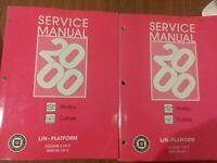 2000 Chevrolet Malibu Oldsmobile Cutlass Factory Service Manuals