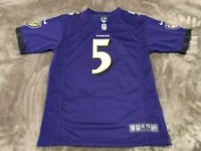 Joe Flacco #5 Baltimore Ravens JERSEY REEBOK NFL SIZE YOUTH LARGE L