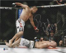 Dan Henderson Signed 8x10 Photo BAS Beckett COA UFC 100 Bisping KO Picture Auto