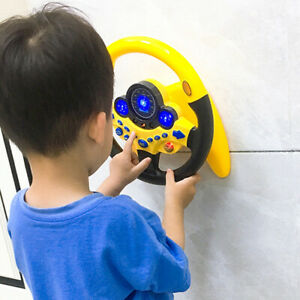Simulation Driving Car Toy Steering Wheel Kids Baby Interactive Toys