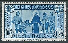 1931 REGNO S. ANTONIO 1,25 LIRE MH * - P42-7