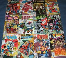 8x Marvel Comics SPIDER-MAN, X-MEN, AVENGERS, IRON MAN, FANTASTIC FOUR, ETC.