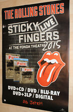 "Rolling Stones Promo Poster 2017 ""Sticky Fingers Live""  - NEU -"