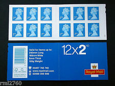 2014 M14L + MTIL 12 x 2nd Class Booklet - New 03457 Phone Number - W4 CYLINDER