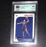 Zion Williamson 2019 NBA Hoops #258 Gem Mint Rookie Card PGI 10