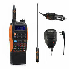 Baofeng GT-3 Mark II Dual-Band Handheld Radio Walkie Talkie 3800mAh+ Speaker!