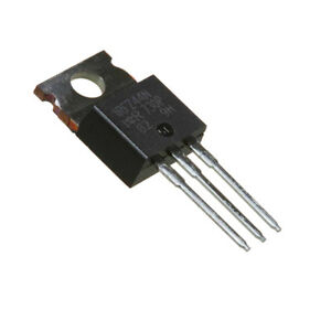 IRFZ44N HEXFET Power MOSFET N-Channel Transistor  49A - 55V - 17.5mΩ, Pack of 2