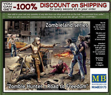 """Master Box 35175 """"Zombie Hunter - Road to Freedom""""  5 Figures Scale 1/35"""