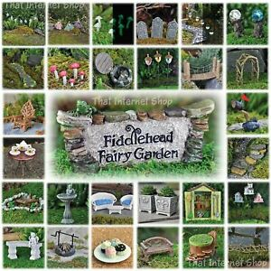 Miniature Fairy Garden Accessories Ideas Kits Supplies Ornaments Indoor Outdoor