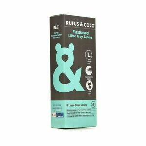 Rufus & Coco Elasticised Litter Tray Liners-Large