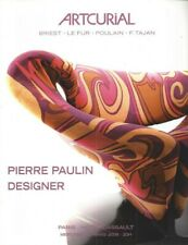 PIERRE PAULIN CATALOGUE VENTE ARTCURIAL 12/03/2008
