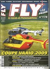 FLY N°174 PLAN : BIG DADDY / ZLIN 526 / TUCANO 60 / FUTABA 10 CG / HEINKEL 111