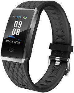 Willful Smartwatch Fitness Tracker Orologio Uomo Donna Cardiofrequenzimetro IP68