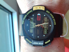 Casio VINTAGE COLLECTION AW-23 MODULE 791 1000 HOURS CHRONO WATCH MONTRE JAPAN C