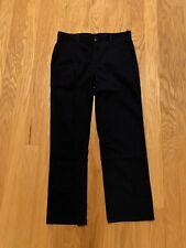New listing Izod Boys Navy Pants 18 Husky Adjustable Waist