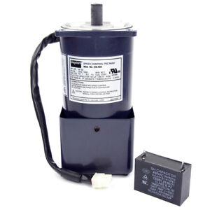 Dayton 1/8 HP Speed Control PSC Motor - 220VAC TEFC 1650 RPM 1 Phase 23L403
