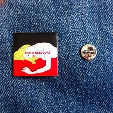 Pulp This Is Hardcore Pin Badge By Dan Wilson .. Jarvis Cocker Brit Pop 90s
