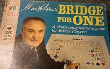 Bridge for One board game 1967 Chas H Goren's cards 4753 Milton Bradley