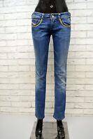 Jeans DIESEL LOWKY Donna Taglia 42 Pants Pantalone Regular Elastico Woman Blu