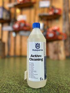 Active Cleaning HUSQVARNA Waschmittel Harzlöser Arbeitskleidung Schnittschutz