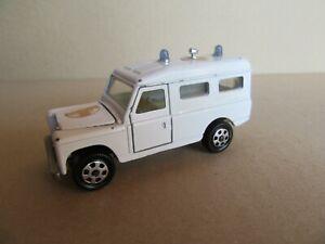 915J Mebetoys Mattel A42 Land Rover Cross Red 1:43