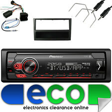 Vauxhall Meriva A Facelift CD30 Pioneer Car MP3 USB & Steering Wheel Kit Black