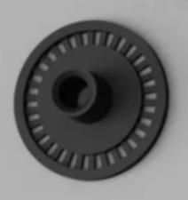 Optical Encoder for Logitech Steering Wheel 30 Slots for G27 or Driving Force GT