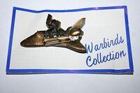 Brass Aviation Pin - NASA Space Shuttle Hubble Telescope - Warbirds Collection