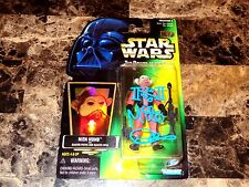 Star Wars Nien Numb Signed Power Of The Force Action Figure Puppeteer Mike Quinn