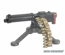 Brickarms m1917 MG con tre Gamba, ww2, militare, Custom Arma per LEGO ® figure