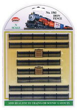 Model Power 1561 N Iron Fence Sections (8)