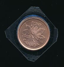 Canada 2007  Non-Magnetic Small Cent Coin RARE