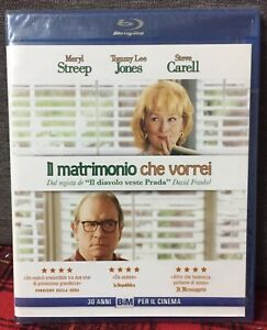 IL Matrimonio Che Vorrei Blu Ray M. Streep Tommy Lee Jones Carell Come da Foto N