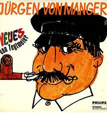 LP  Jürgen von Manger - Neues von Tegtmeier